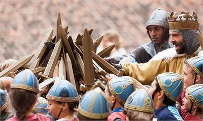 Re art ginevra e i cavalieri della tavola rotonda - Cavalieri della tavola rotonda ...